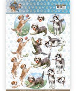 Dyr / Legesyge hunde / Amy design