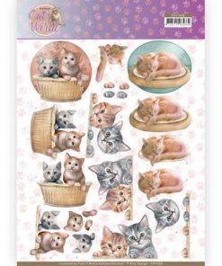 Dyr / Katte der putter / Amy Design
