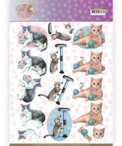Dyr / Legesyge katte / Amy design