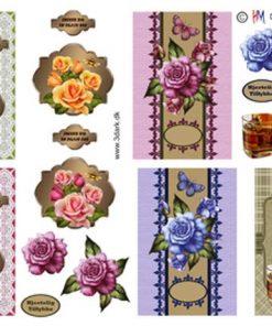 Diverse / Blomster og drinks / Hm Design