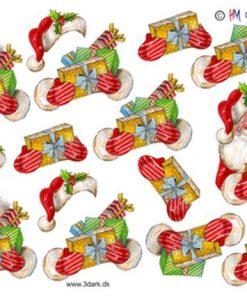 Jul / Julemand med gaver / Hm design