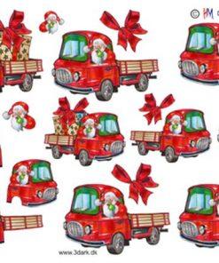 Jul / Julemand i lastbil / Hm Design