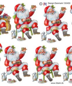 Jul / Julemand holder the-pause