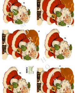 Jul / Julemand med sæk / Dan-Design