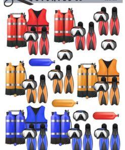 Herre / Dykker udstyr / Quickies
