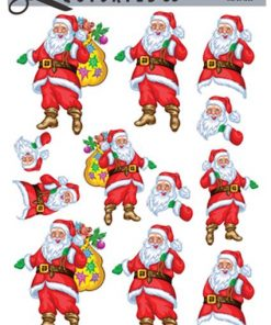 Jul / Julemand med gavesæk / Quickies