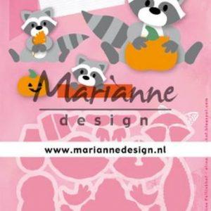 Dies / Skøn vaskebjørn / Marianne Design