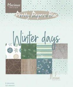 Karton A5 / Winter days / Marianne Design