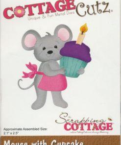 Dies / Mus med cupcake / Cottage Cutz