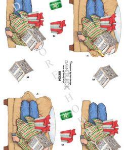 Herre / Mand sover i sofa / Dan-Quick