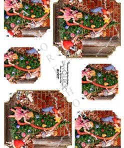 Jul / Børn pynter juletræ / Dan-Quick