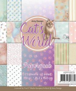 Papirblok / Cat's world / Amy Design