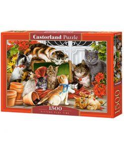Puzzlespil 1500 / Nuttede kattekillinger
