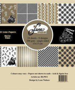 Papirblok / It's movie time / By Lene