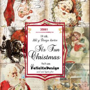 Toppers 9 x 9 cm / Fun christmas / Felicita design