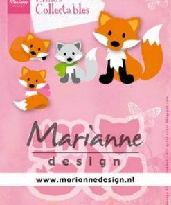 Dies / Sød ræv / Marianne Design