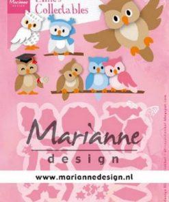 Dies / Skønne ugler / Marianne Design