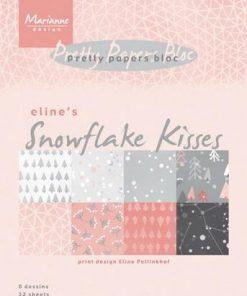 Karton A5 / Snowflake kisses / Marianne Design