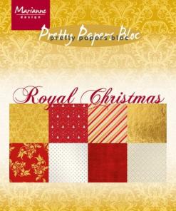 Karton A5 / Royal Christmas / Marianne Design