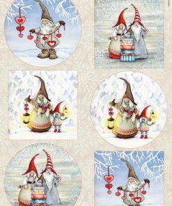 Jul / Vinter gnomer / Marianne Design
