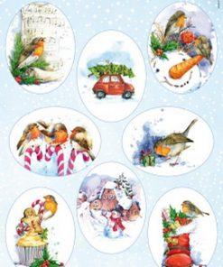 Jul / Søde jule fugle / Marianne Design