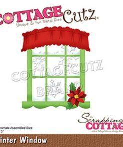 Dies / Vinter vindue / Cottage cutz