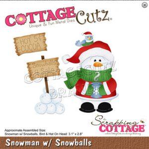Dies / Snemand med snebolde / Cottage cutz
