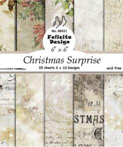 Karton 15 x 15 cm / Christmas surprice / Felicita Design