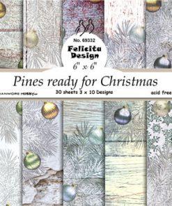 Karton / Pines for christmas / Felicita Design