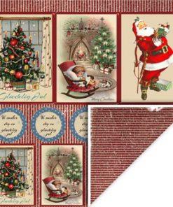 Karton 30 x 30 cm / Jul 2-sidet / felicita Design