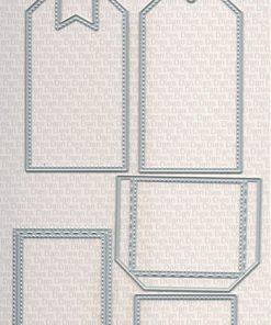 Dies / Basic folde-mærke tilbehør / Dan-Dies