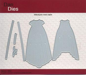 Dies / Dåbskjole med sløjfer / Dan-Dies