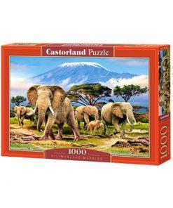 Puzzlespil / Kilimanjaro morning / 1000 brikker