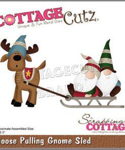 Dies / Elg trækker nisser / Cottage Cutz