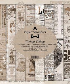 Karton / Vintage collage / Paper favourites