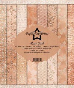Karton / Rose gold / Paper favourites