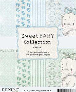Karton 15x15 cm / Sweet baby / REPRINT