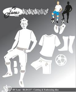 Dies / Fodboldspiller / By Lene