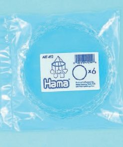 Hama plastik uro ringe, 6 stk