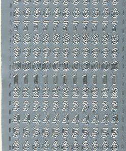 Stickers / Sølv tal