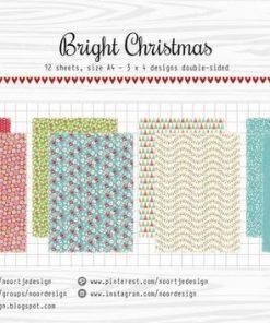 Karton A4 / Bright christmas / Joy Crafts