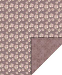 Karton 30 x 30 / Gl. rosa roser / Felicita Design
