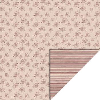 Karton 30 x 30 / Gl. rosa striber / Felicita Design