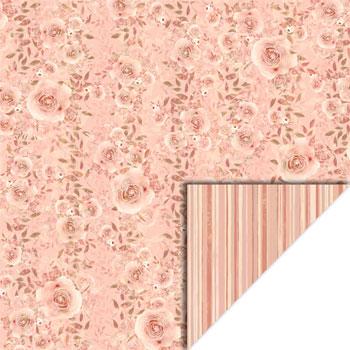 Karton 30 x 30 / roser,strib / Felicita Design