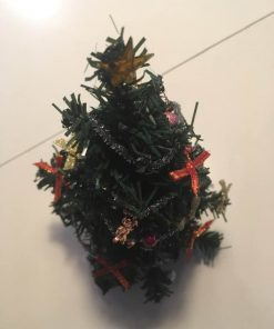 Jul / Pyntet juletræ 1:12 / Dukkehus