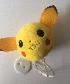 Plush pompom med Pokemon, Pikachu