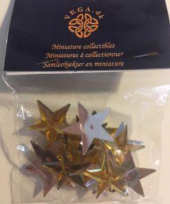 Jul / Guld stjerner 1:12 / Dukkehus
