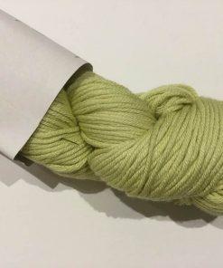 Garn / Bomuld, Bambus / Lys grøn, 100 g