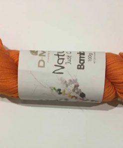 Garn / Natura, bomuld / Orange 100 g