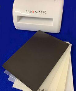 Stansemaskine / Fabmatic/Ebosser skære maskine